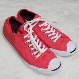 Jack Purcell Converse Sneakers Sz 8 Red & white